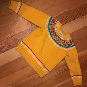 Hanna Andersson Knit Sweater - Kids Yellow